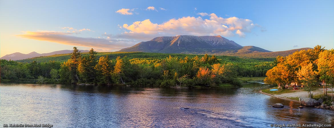 Mount Katahdin in August