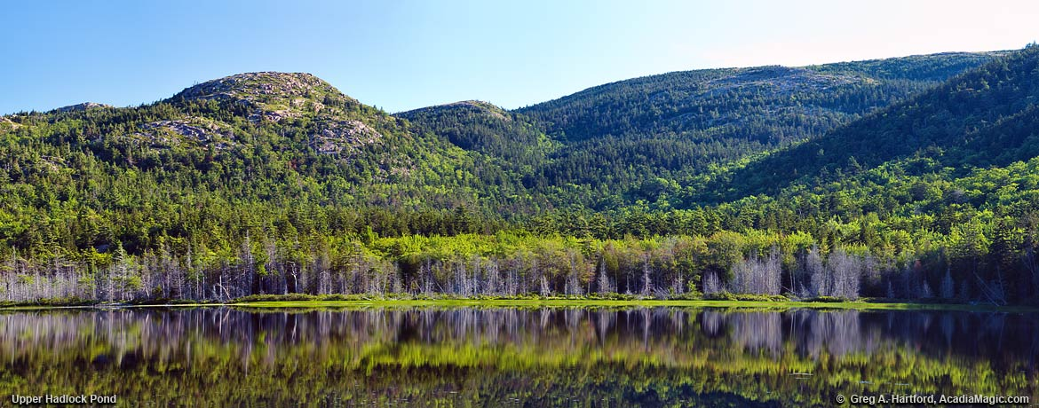 View of Upper Hadlock Pond