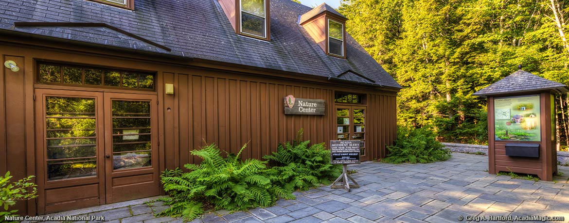The Nature Center in Acadia National Park
