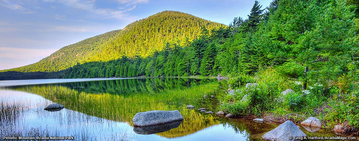 Pemetic Mountain in Acadia National Park, Maine