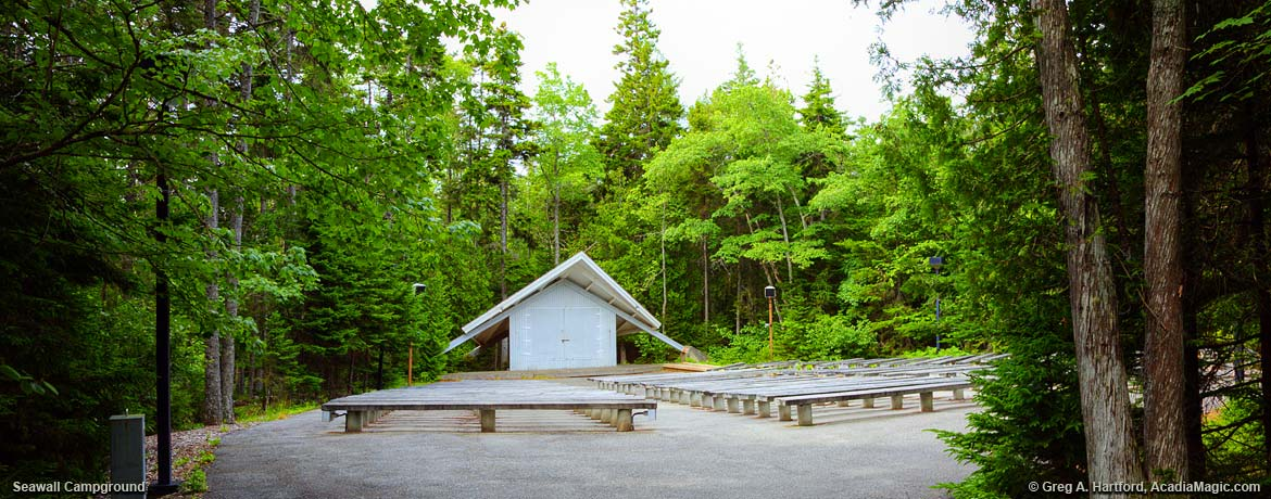 Seawall Campground Amphitheater