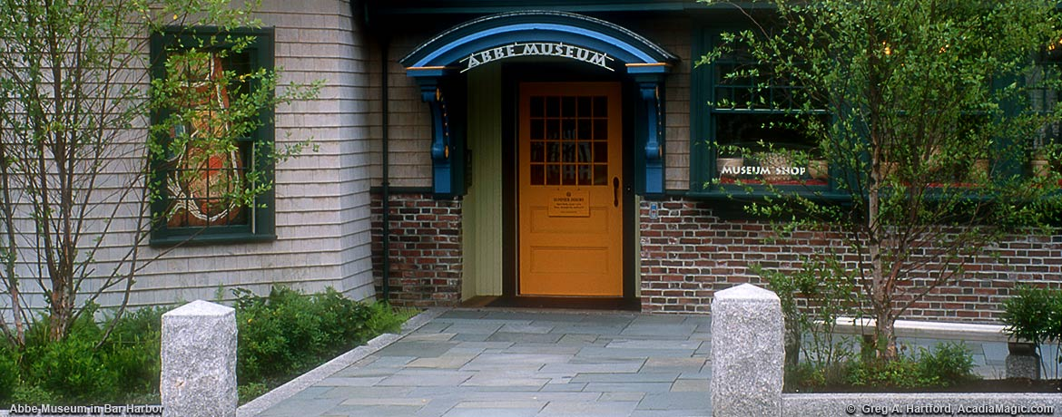 Bar Harbor location of Abbe Museum