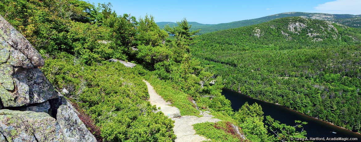 Beech Mountain Trail in Acadia National Park