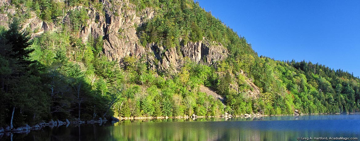 Cliffs of Beech Mountain at Echo Lake