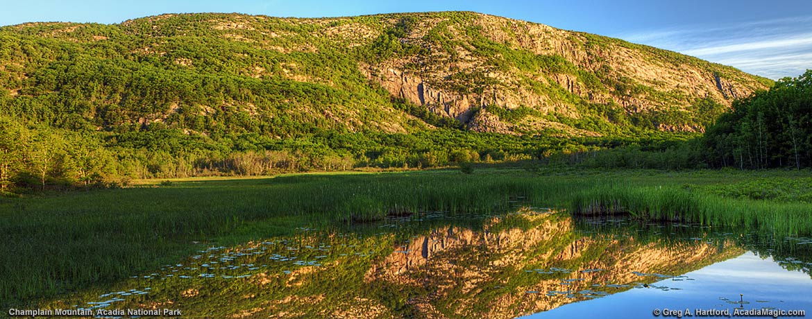 The Precipice on Champlain Mountain in Acadia