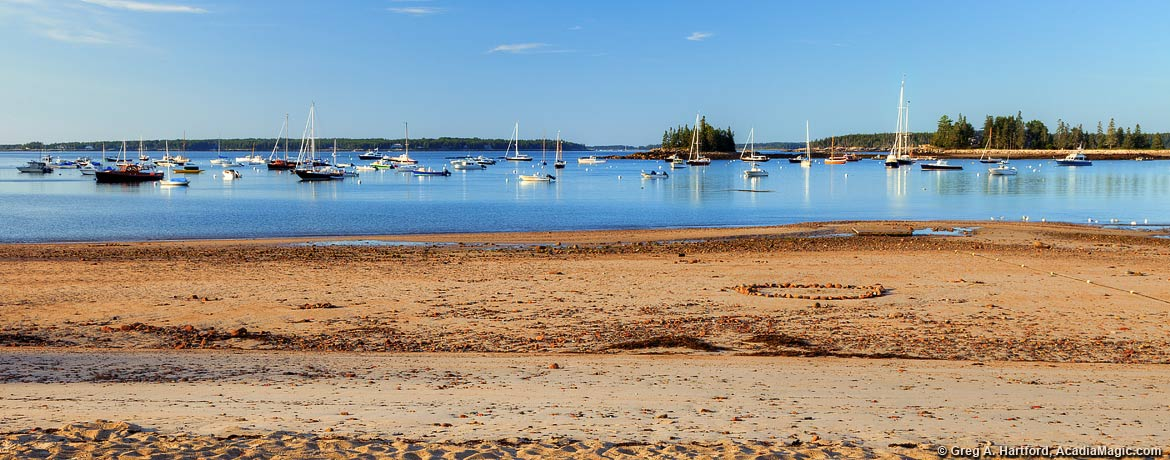 Public Beach in Seal Harbor, Maine
