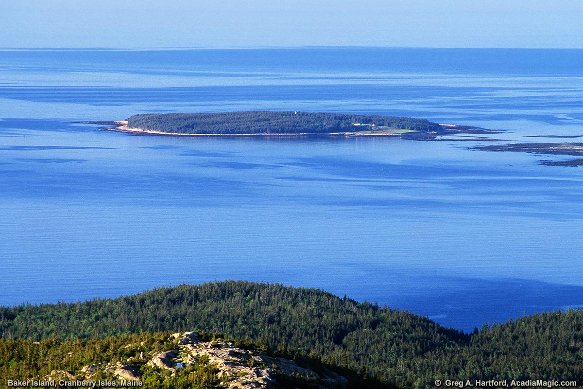 Baker Island in Cranberry Isles, Maine