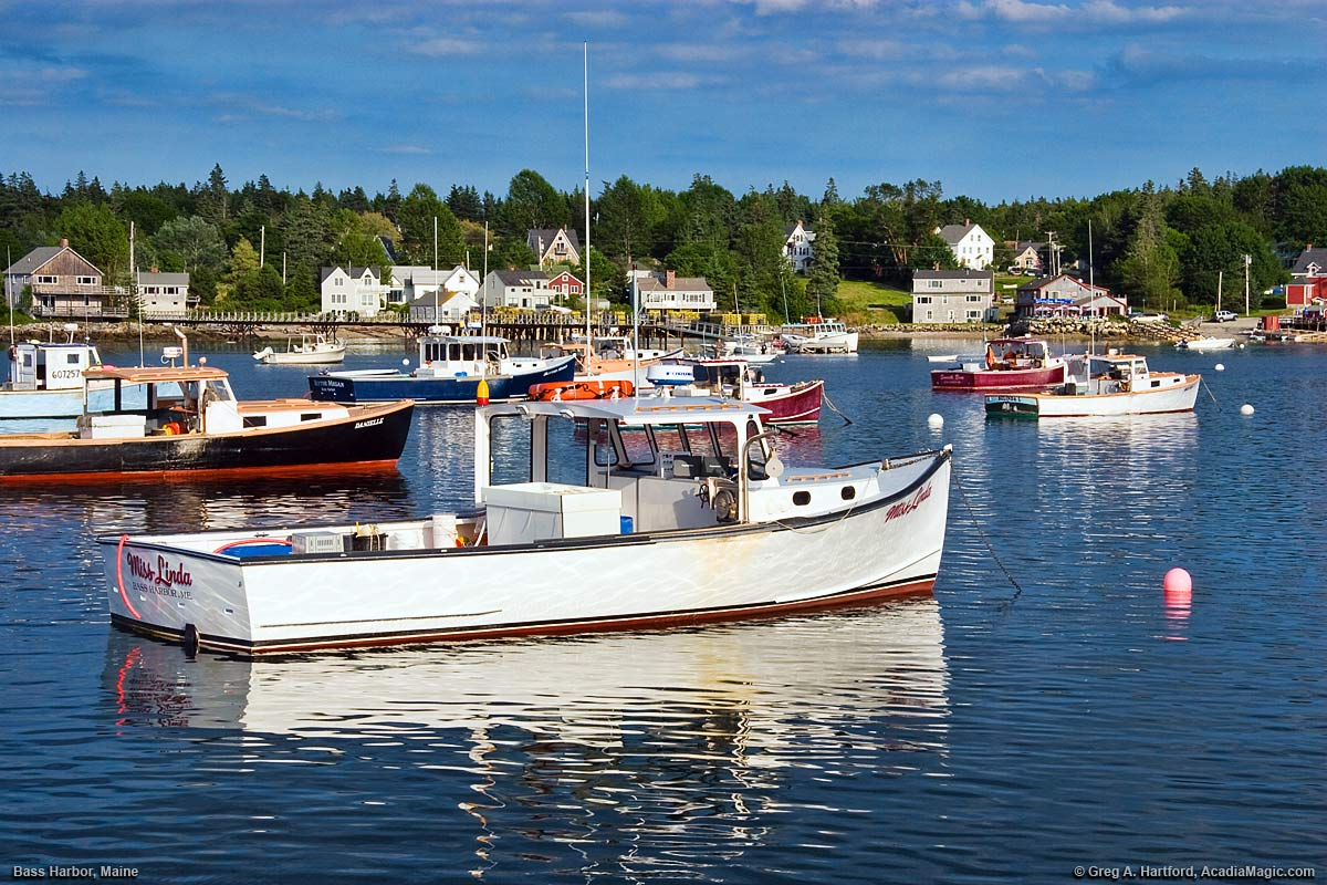 Bass harbor maine photos set 2 acadia for Fishing boat rentals near me