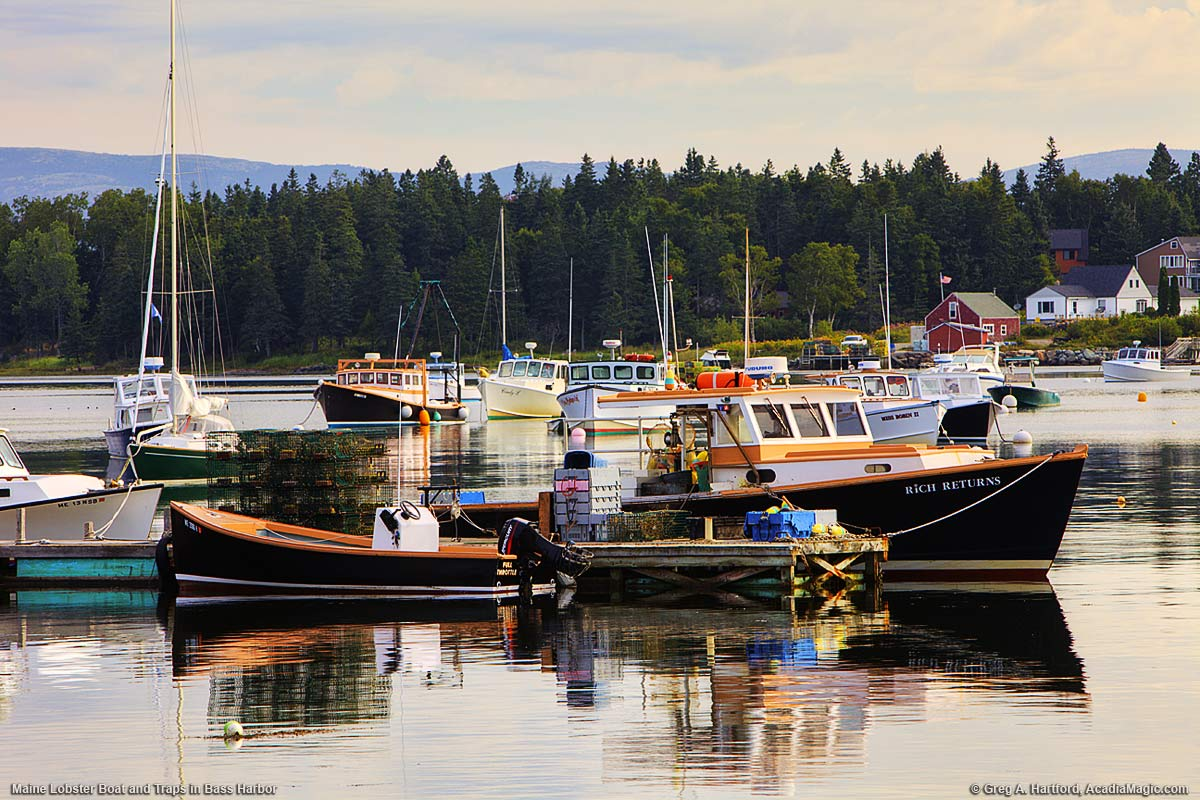 Bass harbor maine photos set 1 acadia for Fishing boat rentals near me