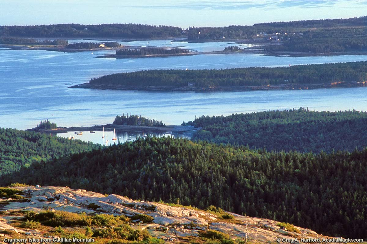 Cadillac Mountain, Cranberry Isles & Seal Harbor