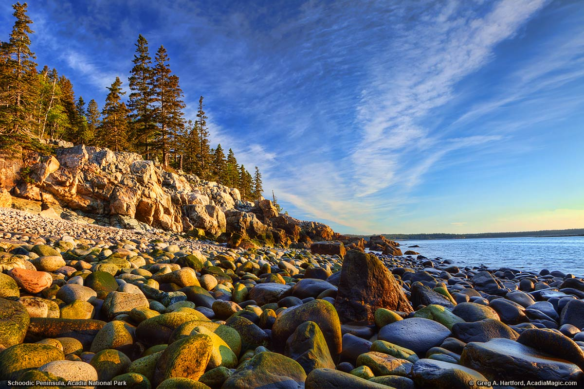 Acadia national park at schoodic peninsula schoodic peninsula sunrise in acadia national park sciox Choice Image