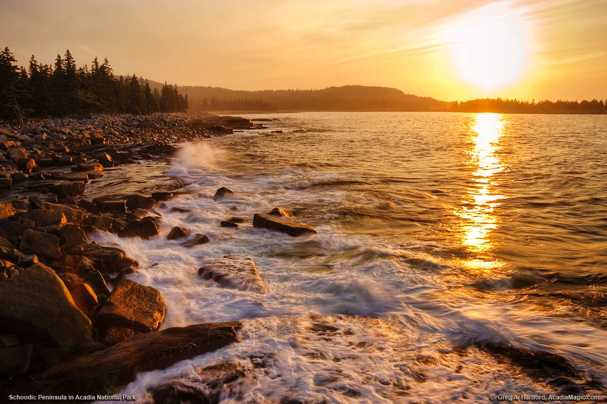 Acadia National Park at Schoodic Peninsula