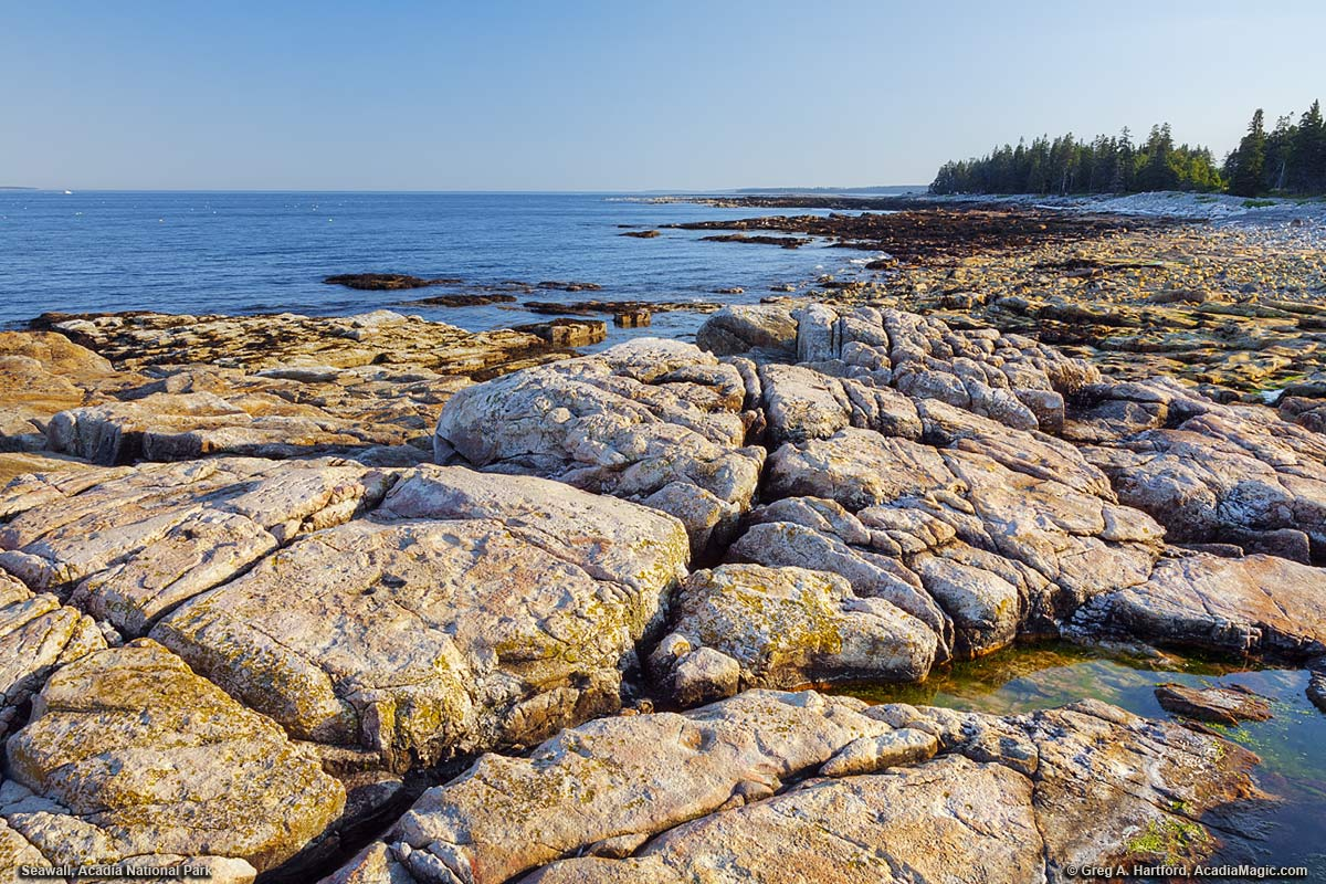 seawall photos acadia national park maine