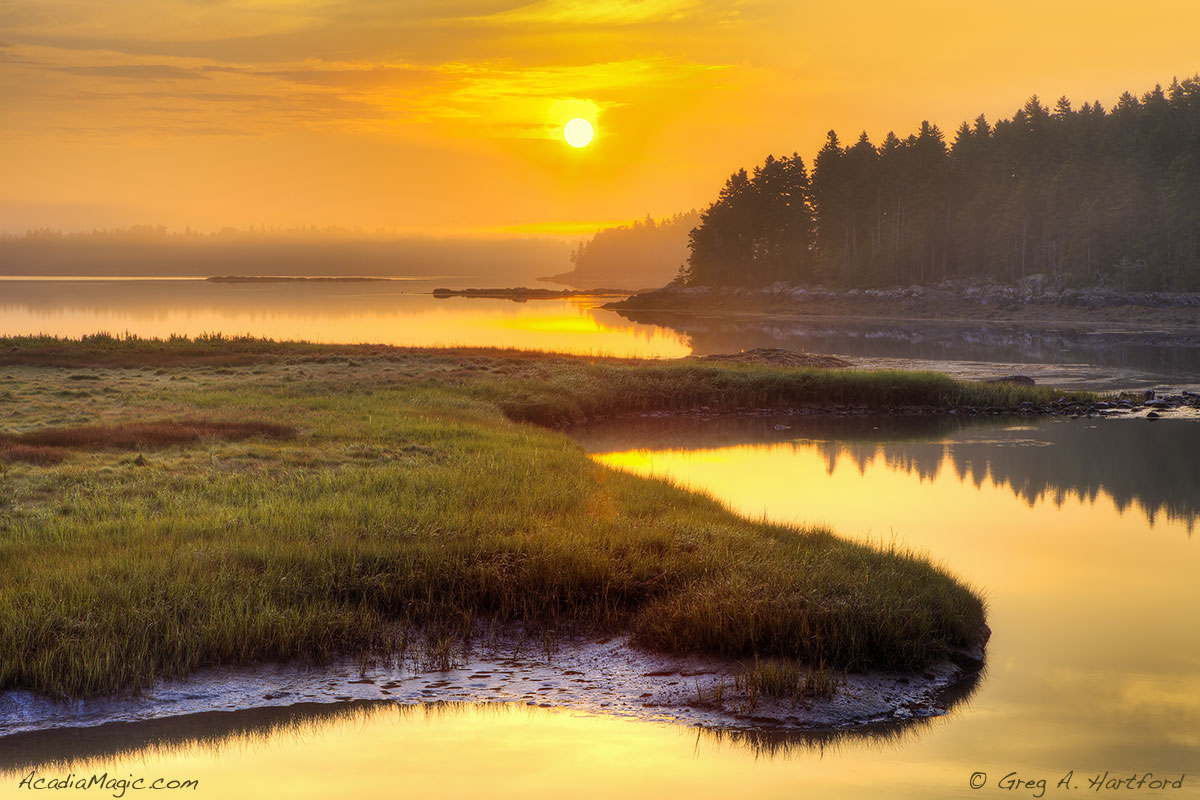 Acadia Sunrise in Trenton, Maine