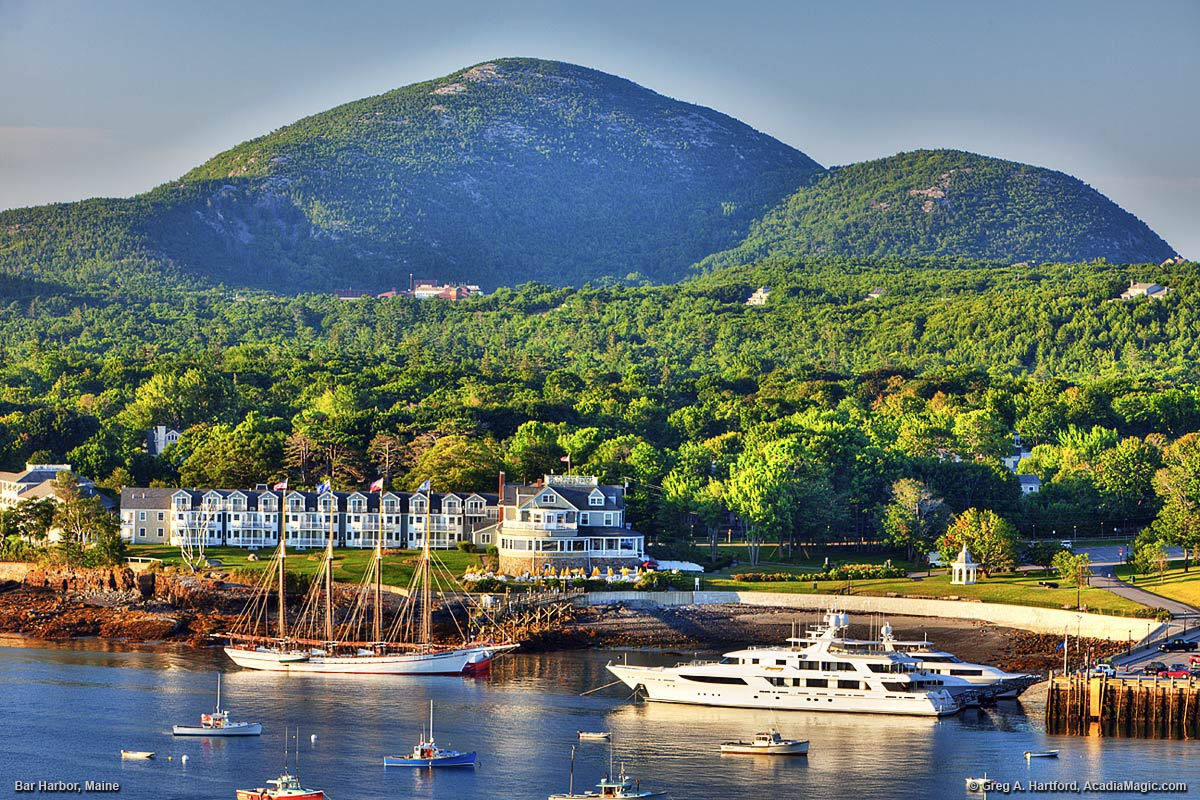 Classic Bar Harbor and Acadia National Park