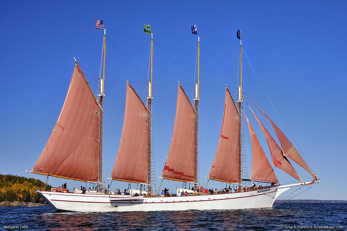 Margaret Todd Windjammer In Bar Harbor Maine