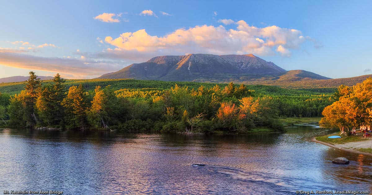Mount Katahdin Panoramic Photos
