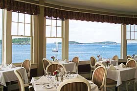 The Bar Harbor Inn Restaurant View