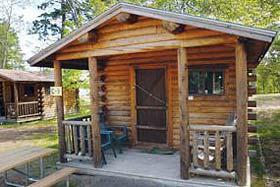 Bar Harbor Camping Resorts Log Cabins