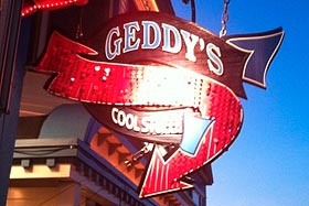 Geddy's in Bar Harbor, Maine