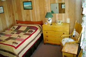 Sample room at Isleview Motel and Cottages