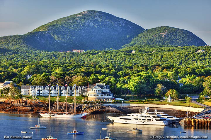 The Bar Harbor Inn and Champlain Mountain