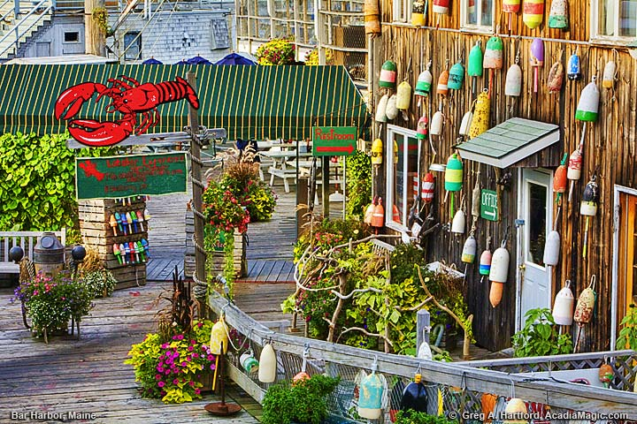 Restaurant in Bar Harbor, Maine