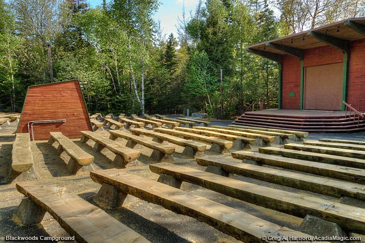 Blackwoods Campground Amphitheater