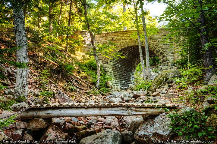Carriage Road Bridge at Hadlock Stream