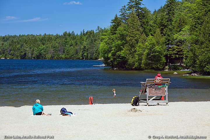 Echo Lake Beach, Maine
