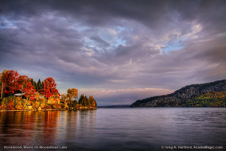 Moosehead Lake in Rockwood, Maine