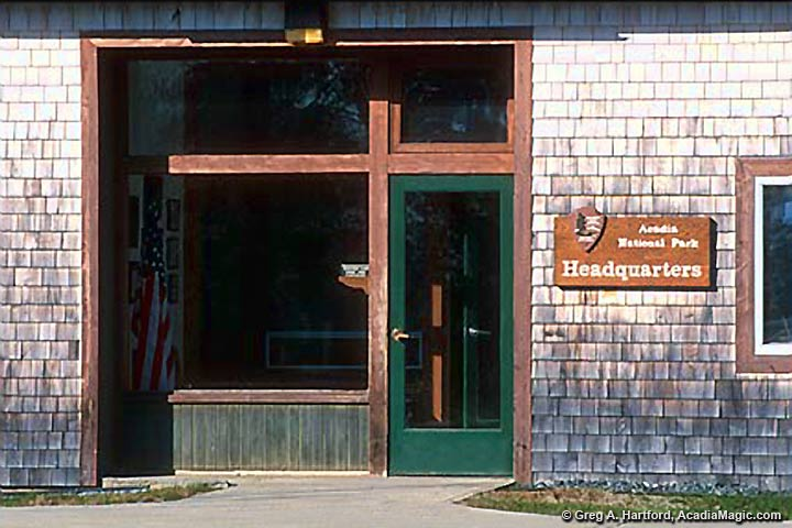 Acadia National Park Headquarters and Winter Location