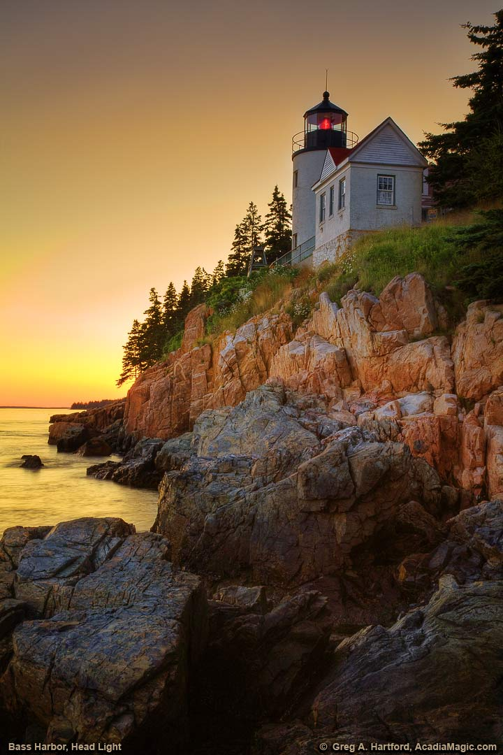 View the Historic Bass Harbor Head Lighthouse