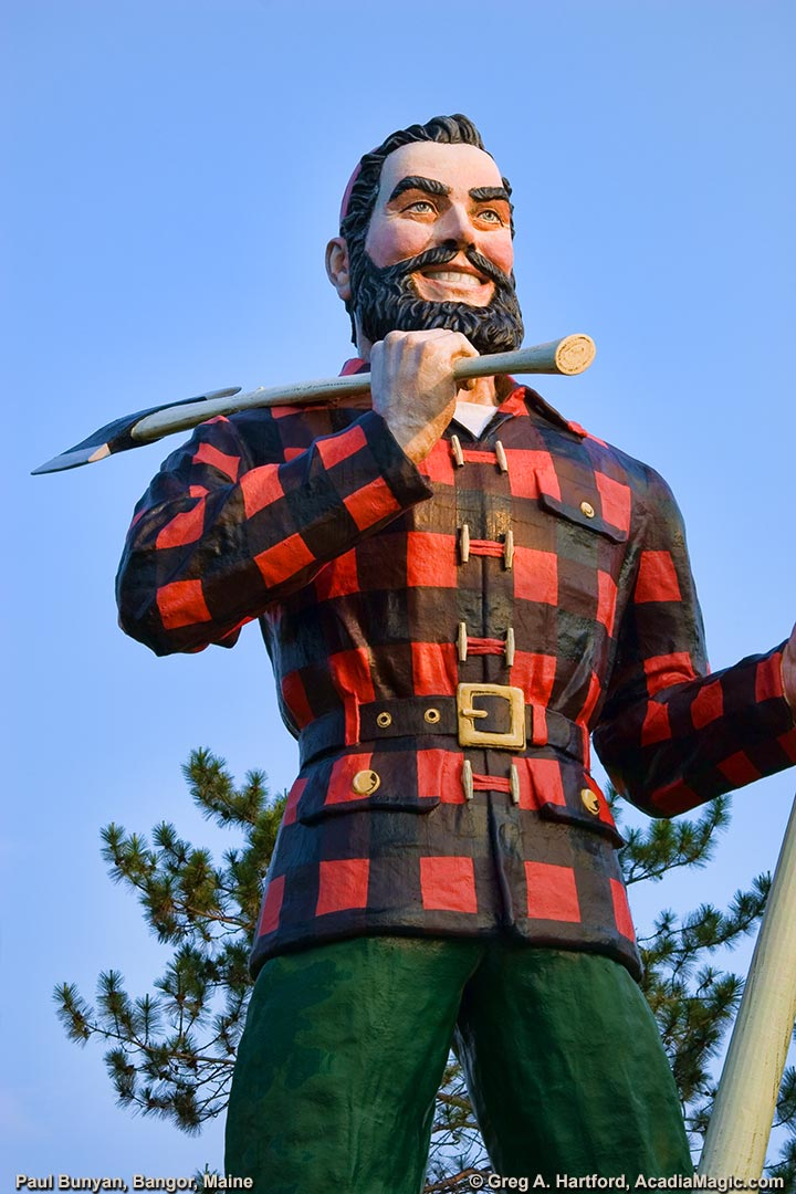 The Lumberjack & Folk Hero - Paul Bunyan