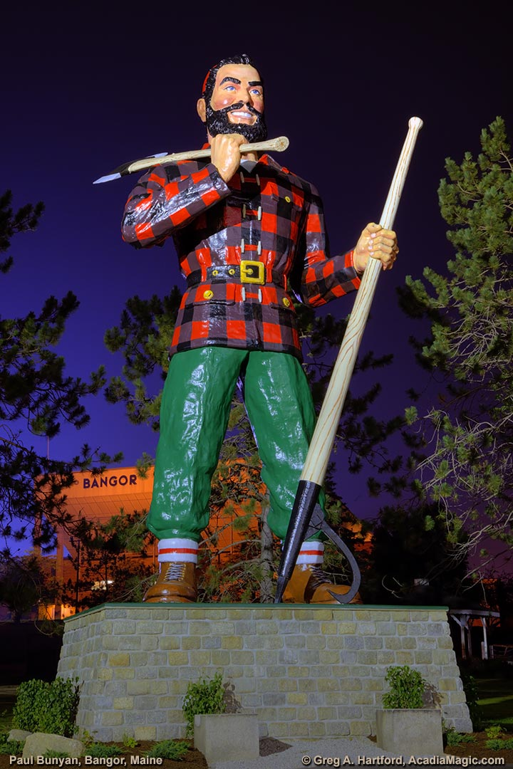 The Lumberjack Folk Hero - Paul Bunyan