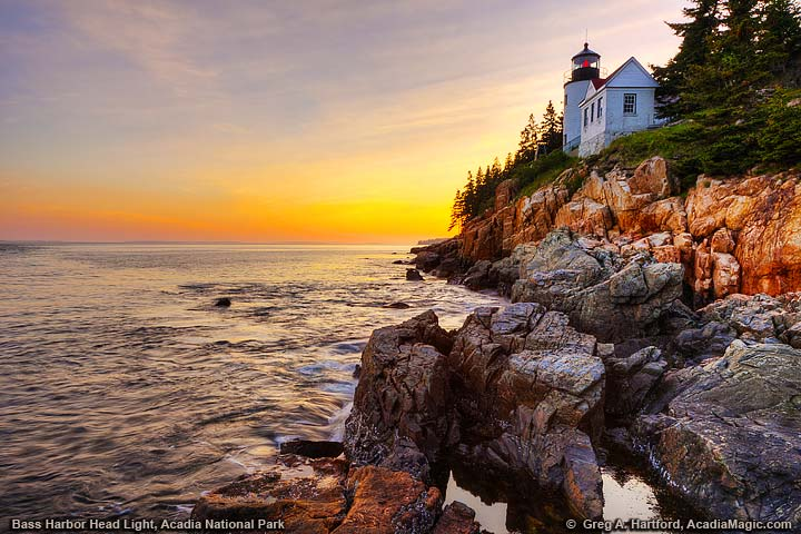 The Bass Harbor Head Light