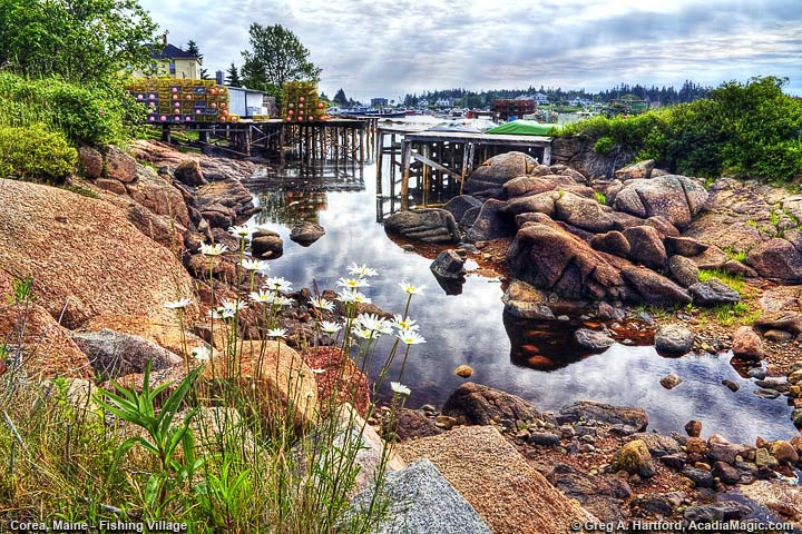 Corea, Maine fishing village