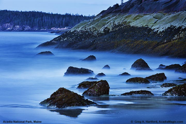 Photo of Sand Beach during twilight before the sunrise