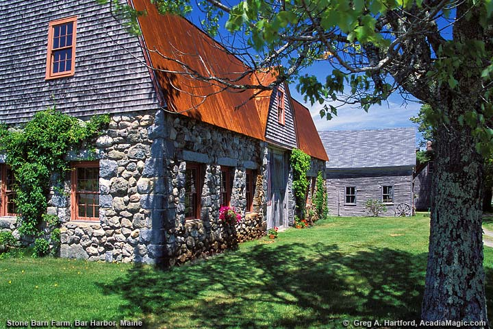Old Stone Barn Farm in Bar Harbor