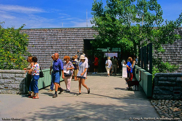 Hulls Cove Visitor Center in Bar Harbor