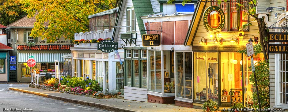 Bar Harbor activities and recreation near acadia