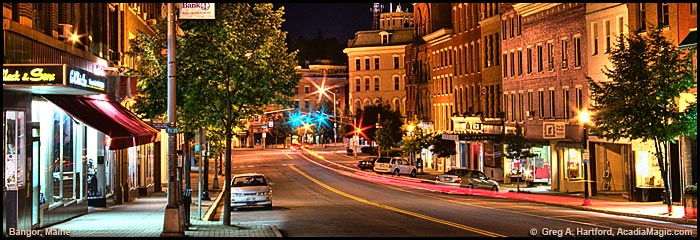 Main Street in Bangor Maine