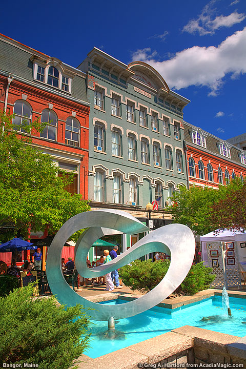 art festival in bangor, maine