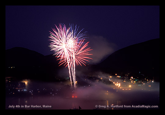 Bar Harbor Fireworks
