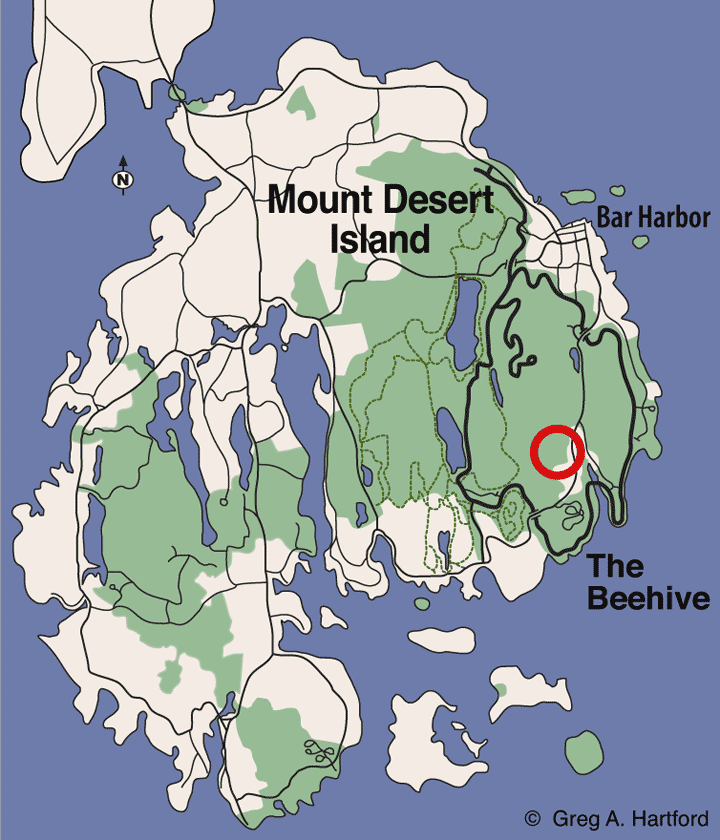 The Beehive Location Map