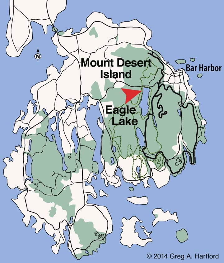 Eagle Lake Location Map
